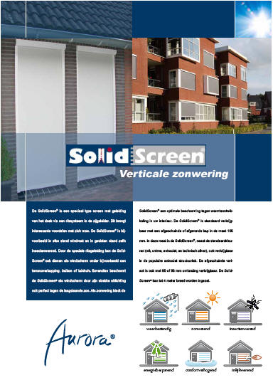 Solidscreen ritsscreens zonweringen