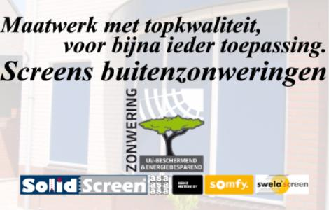 Screens zonweringen gendt